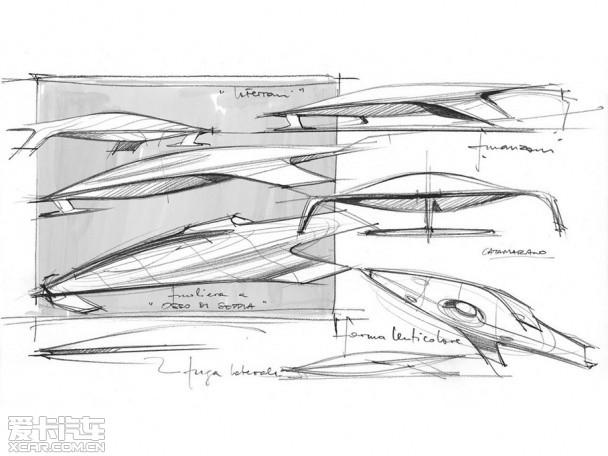 法拉利概念飞船高清图片