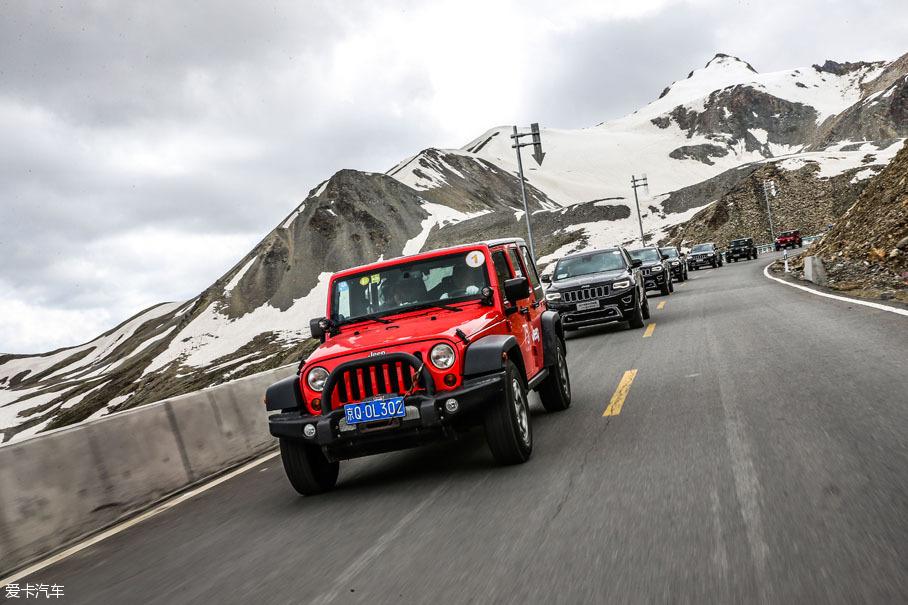 Jeep自驾游
