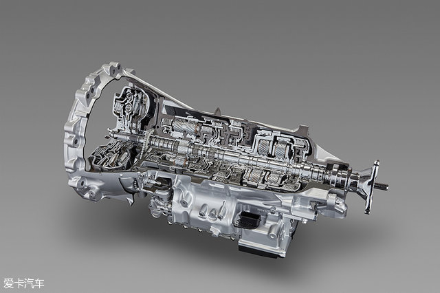 针对发动机纵置结构的10at自动变速箱