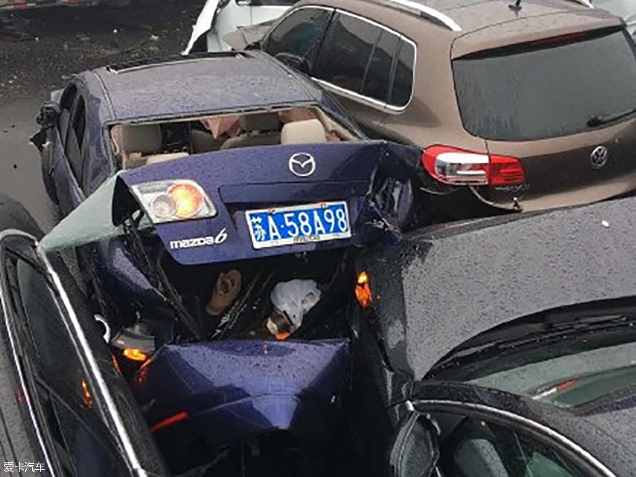 沪宁告诉车祸